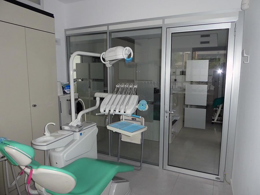 parete divisoria per studio medico